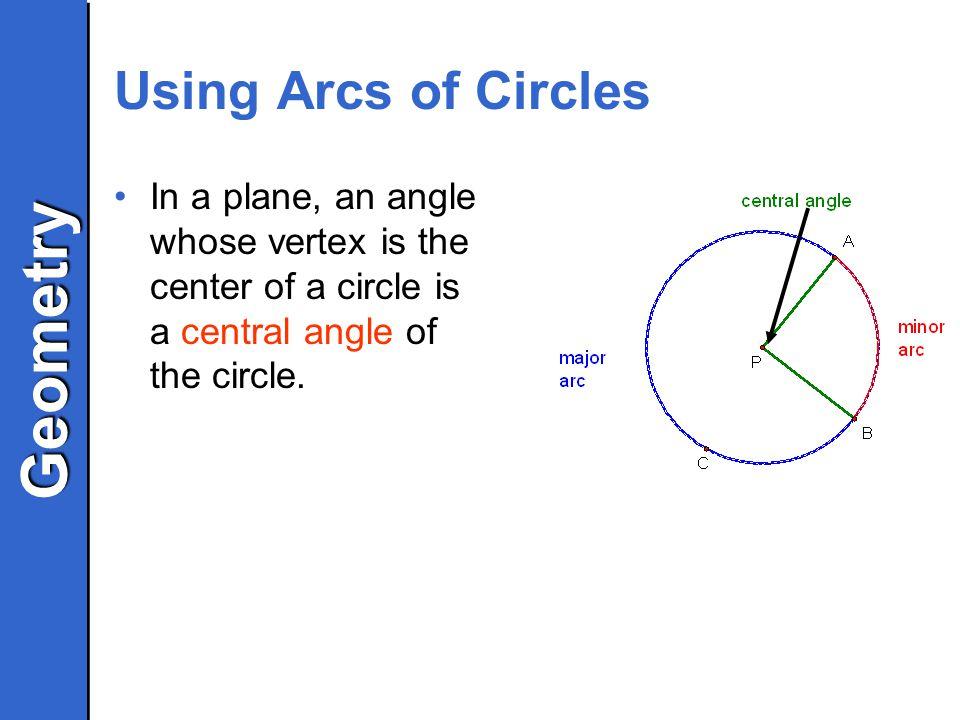 Geometrygeometry 93 Arcs And Chords Geometry Geometry Objectives