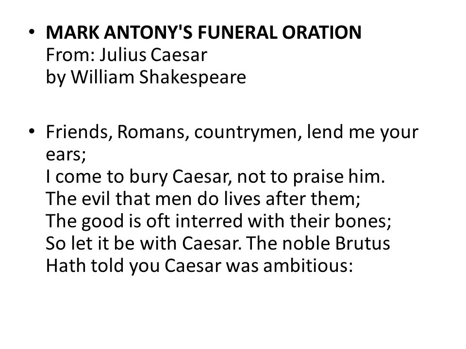 a literary analysis of suspense in julius caesar by william shakespeare Julius caesar was murdered on the ides of march also known as march 15th 44 one is that was witnessed by julius caesar's biographer he was also present at the murder of julius caesar's murder the senate very well planed the murder of julius caesar.