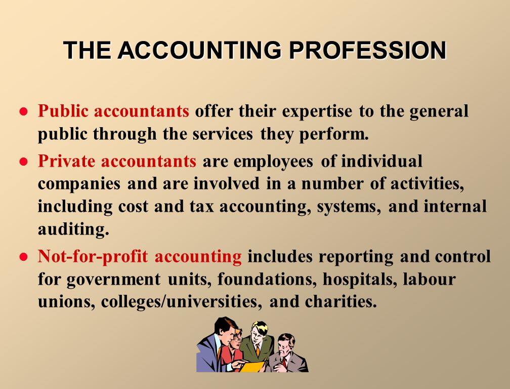 Accounting 1. Includes bookkeeping 2. Also includes much more Bookkeeping 1.