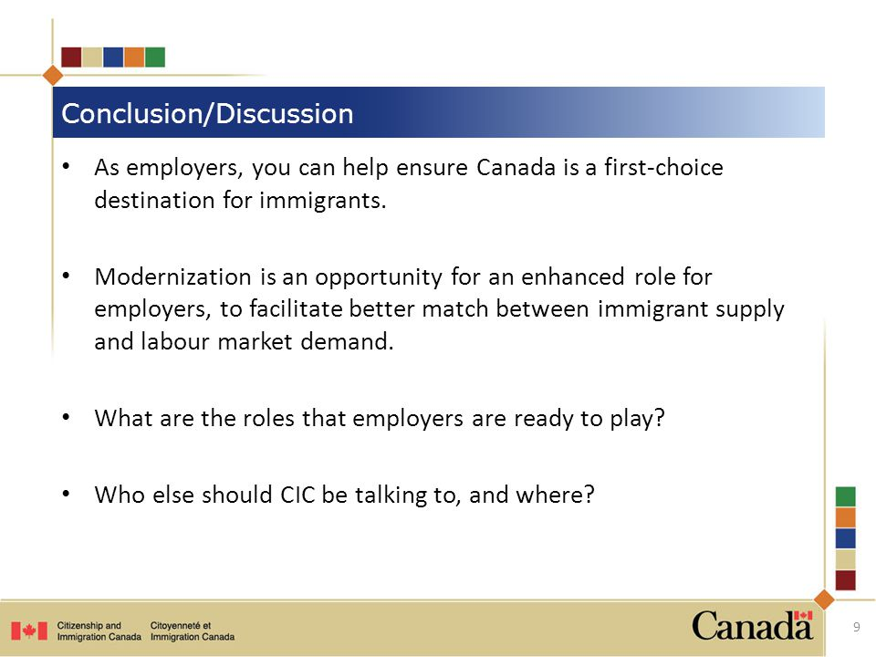 As employers, you can help ensure Canada is a first-choice destination for immigrants.