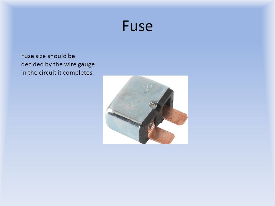 A team 378 tutorial basic wiring wire wire gauge should be 4 fuse fuse size should be decided by the wire gauge in the circuit it completes greentooth Choice Image