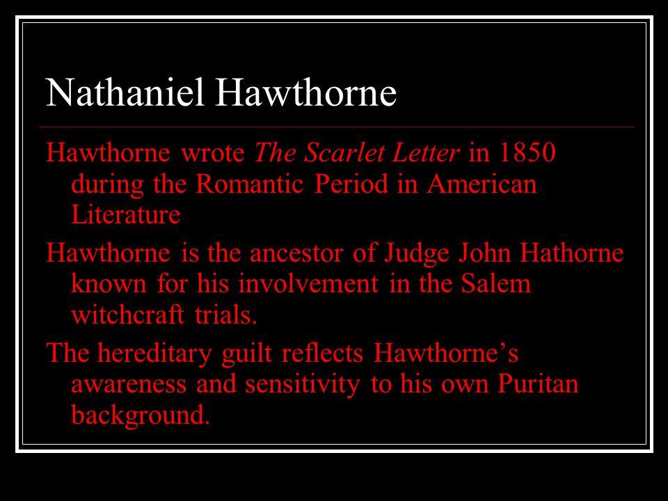 The Scarlet Letter By Nathaniel Hawthorne Nathaniel Hawthorne