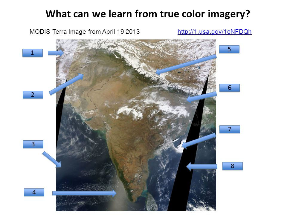 What can we learn from true color imagery.