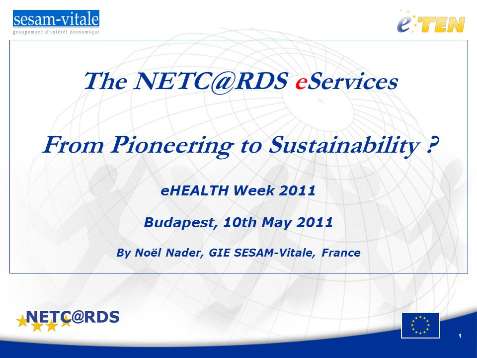 1 The eServices From Pioneering to Sustainability .