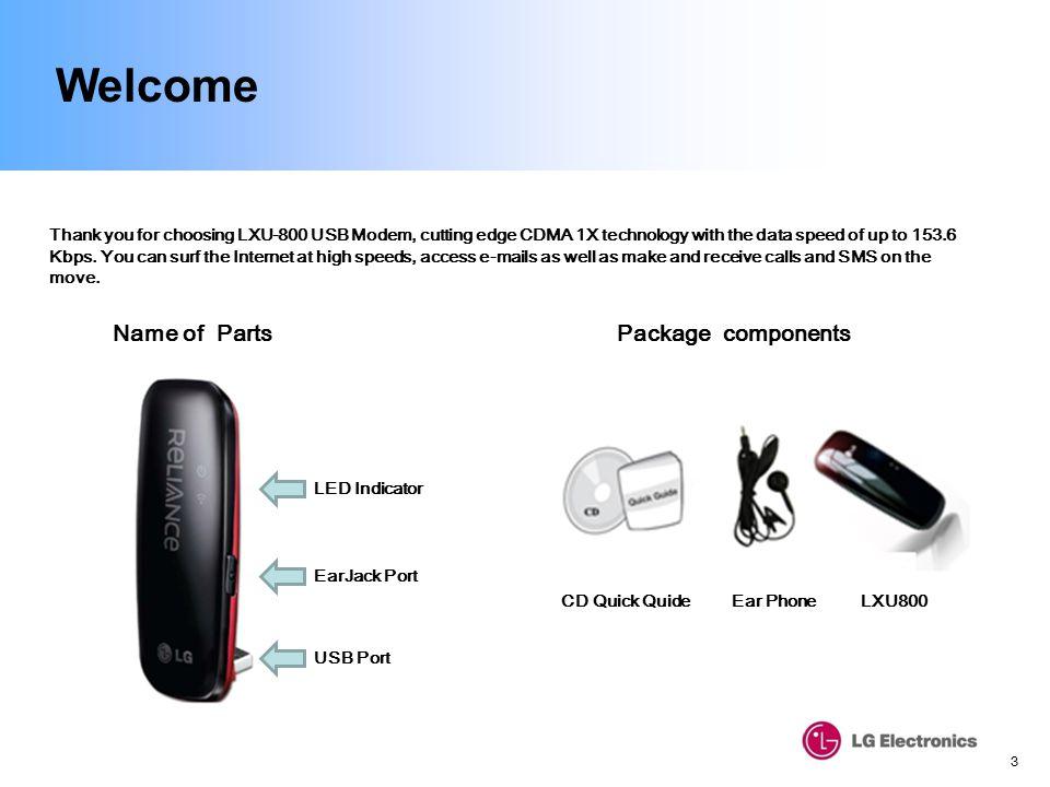DRIVERS FOR LXU-800 USB MODEM