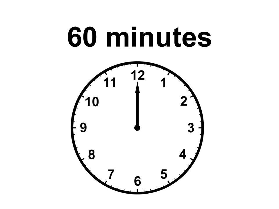 Presentation Timer Select a time to count down from the