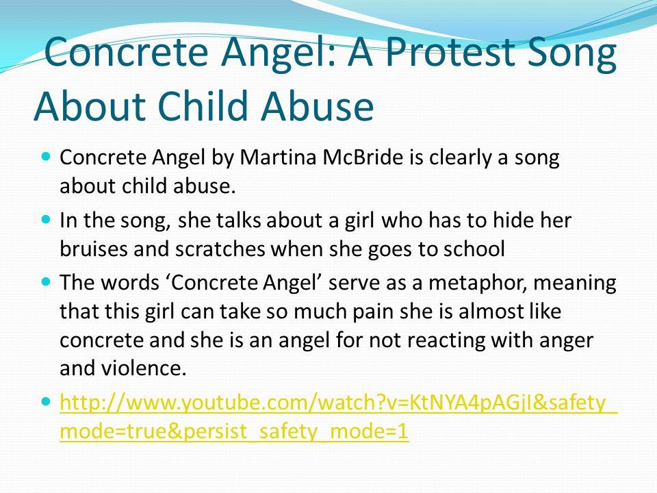 concrete angel lyrics meaning