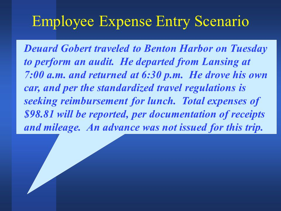 Deuard Gobert traveled to Benton Harbor on Tuesday to perform an audit.