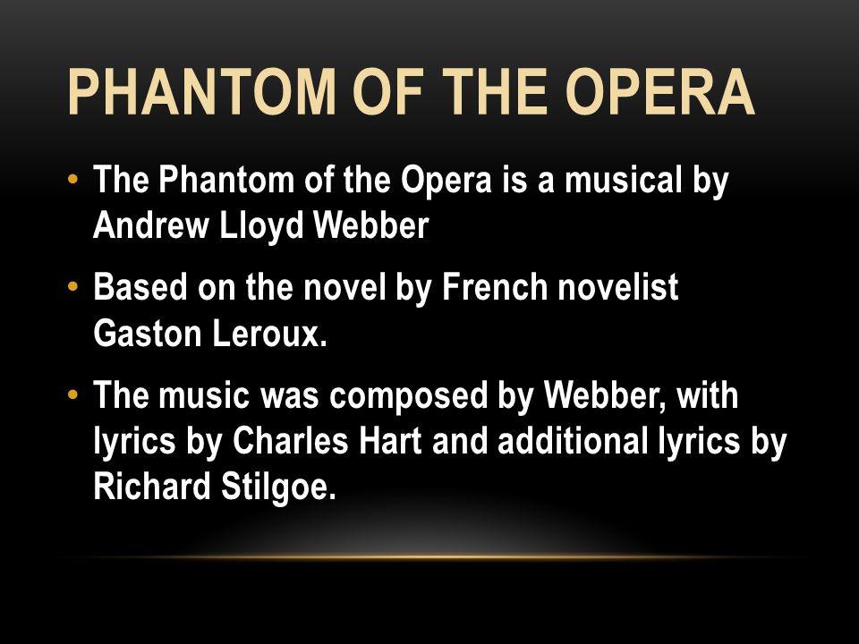 Lyric lyrics to majesty : Far beneath the majesty and splendor of the Paris Opera House ...