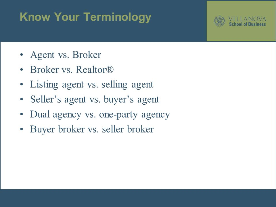Chapter 12 The Broker\'s Role in the Transfer of Real Estate. - ppt ...