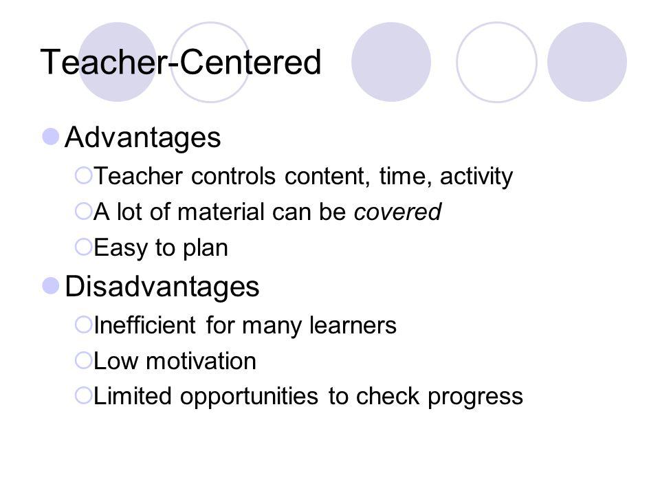 Teacher Centered Instruction Vs Student Centered Instruction Ppt