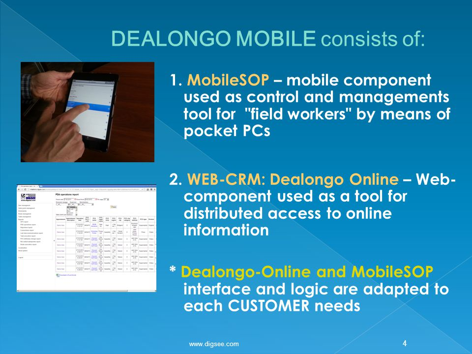 1 DEALONGO MOBILE merchandising control and audit of retail