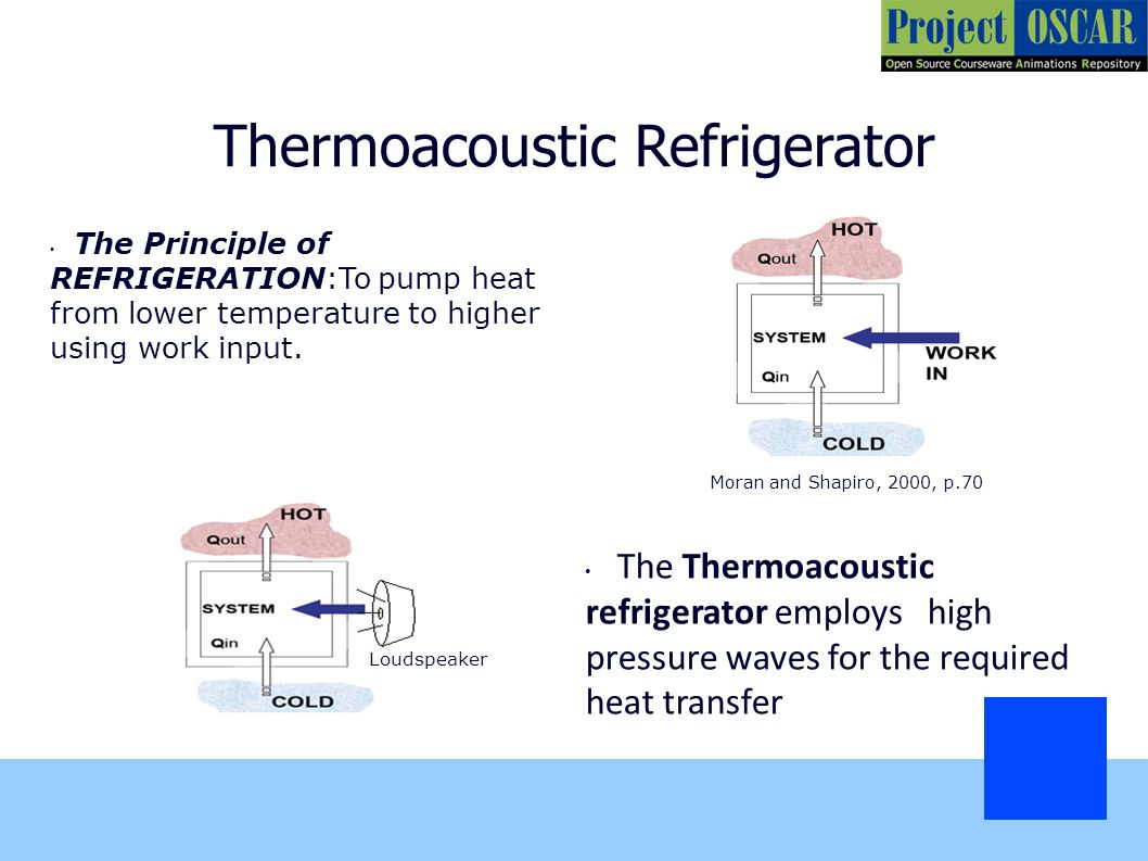 4 thermoacoustic refrigerator