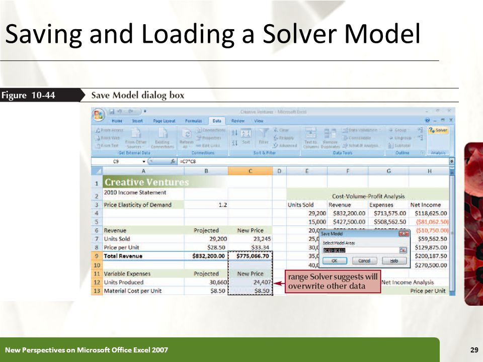 COMPREHENSIVE Excel Tutorial 10 Performing What-If Analyses