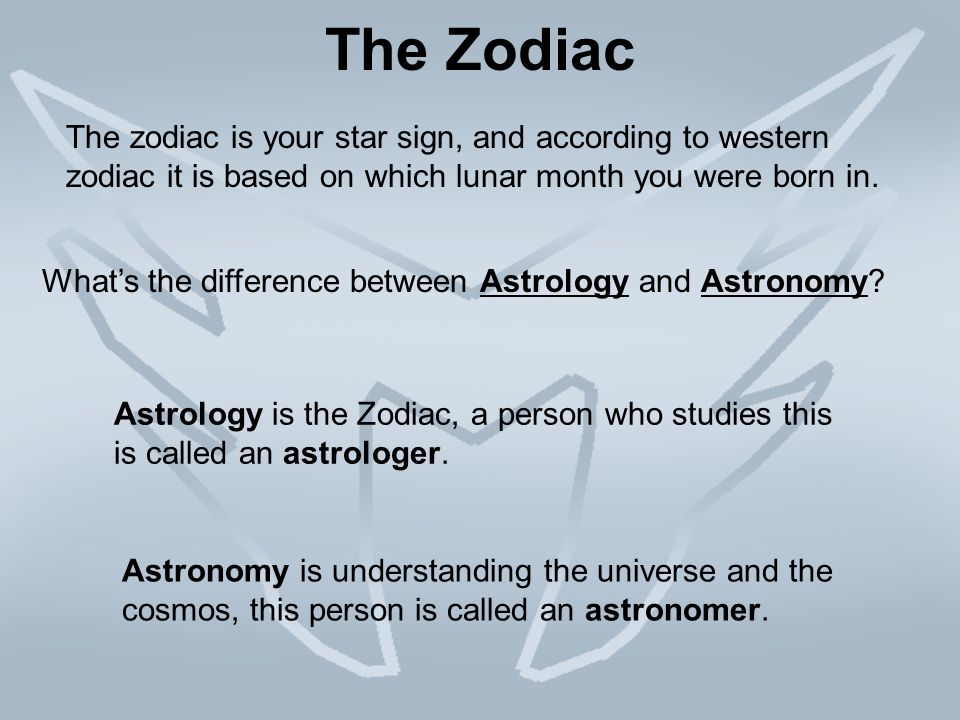 Astrology vs Astronomy