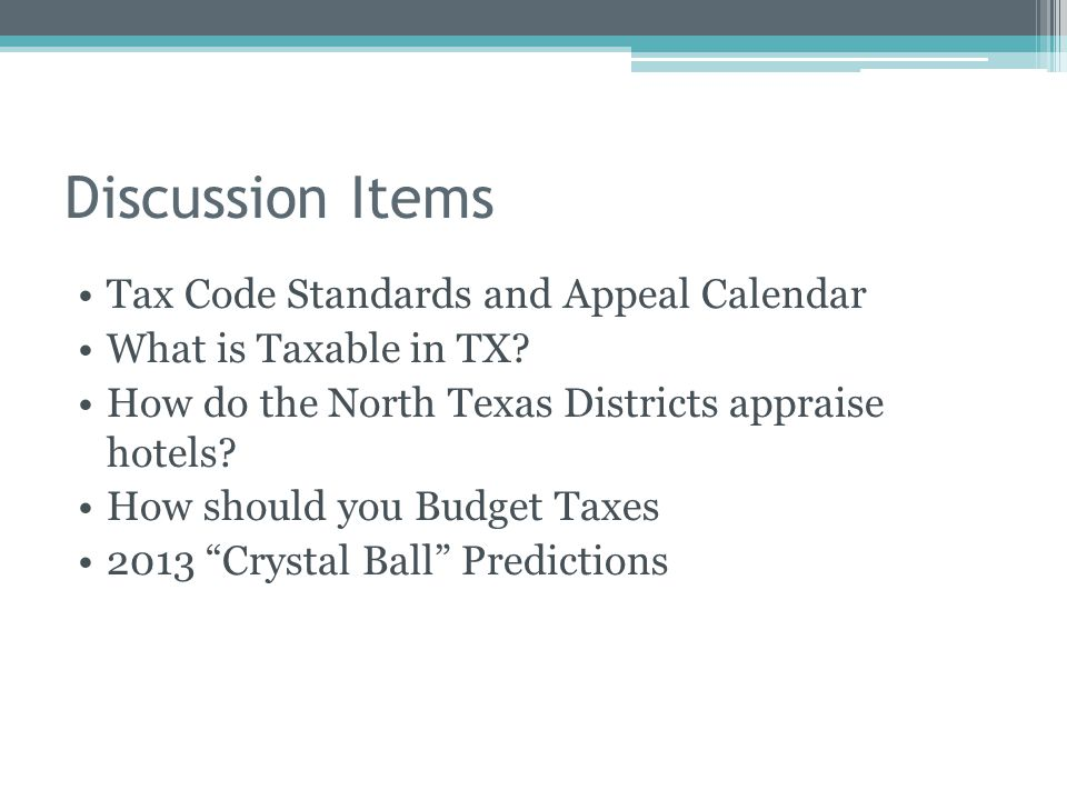 property tax overview and outlook hotel association of north texas