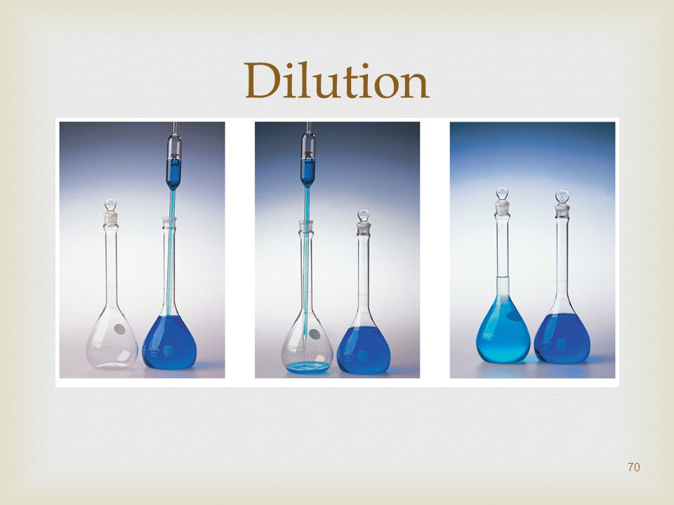  70 Dilution