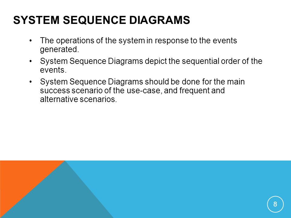 lecture 5 sequence diagram 1 introduction system sequence diagram rh slideplayer com