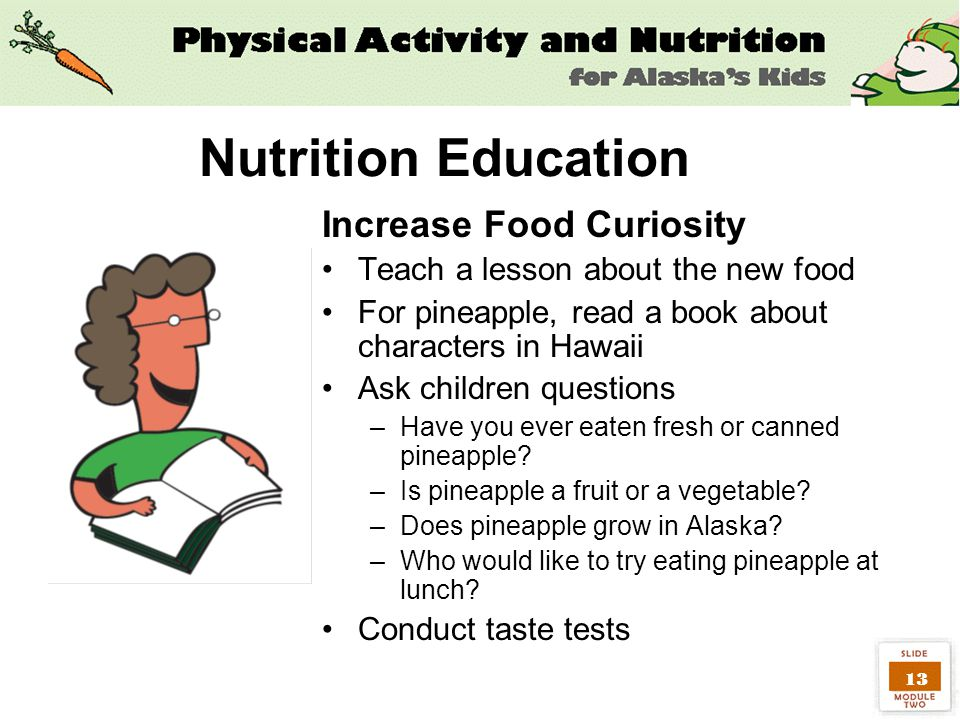nutritional education essay Ii abstract the objective of this study was to explore the impact of nutrition education on the nutritional intake of female high school students.