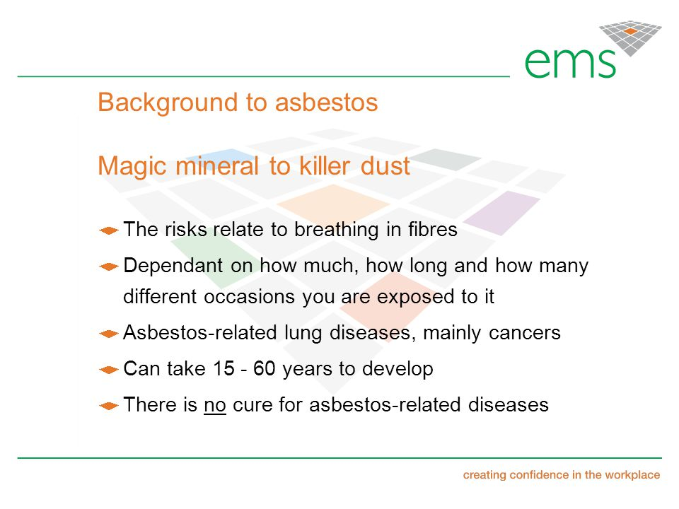 Asbestos Management Retail Sector Forum 11 Th March Ppt Download