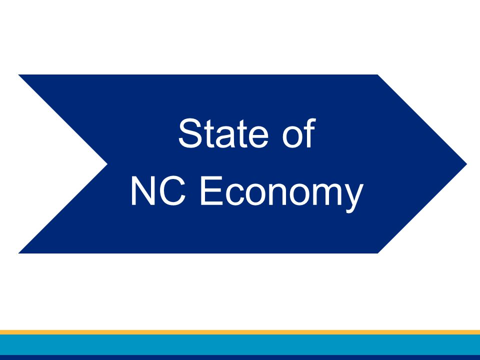 State of NC Economy