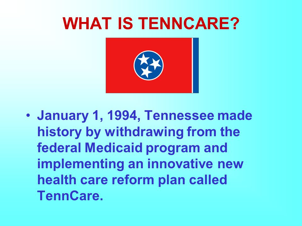 WHAT IS TENNCARE.