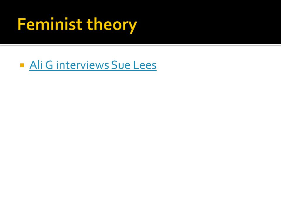  Ali G interviews Sue Lees Ali G interviews Sue Lees