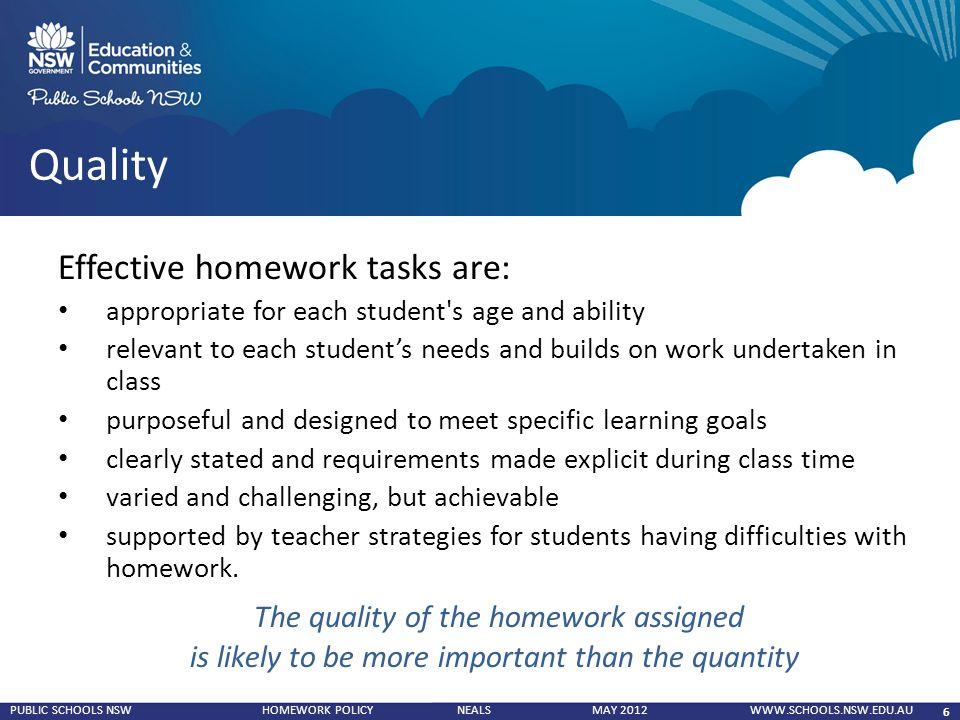 Effective homework strategies for students top blog post editor site au