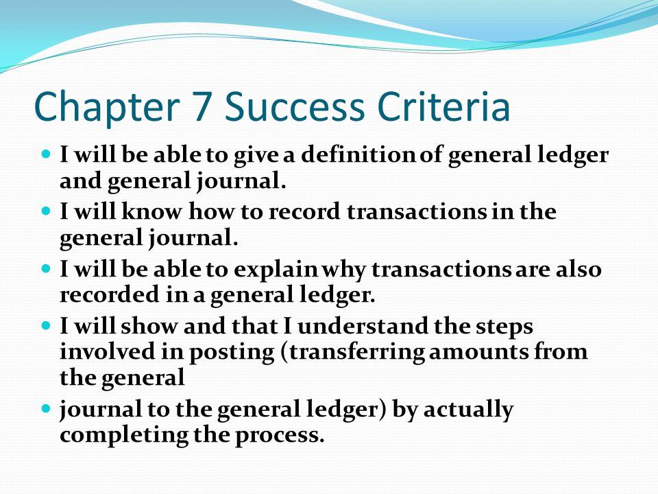 general journal definition