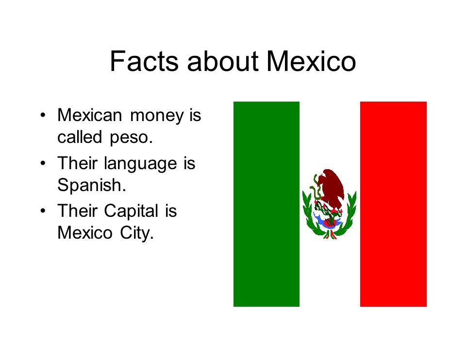 Viva Mexico By Mrs Simmons Facts