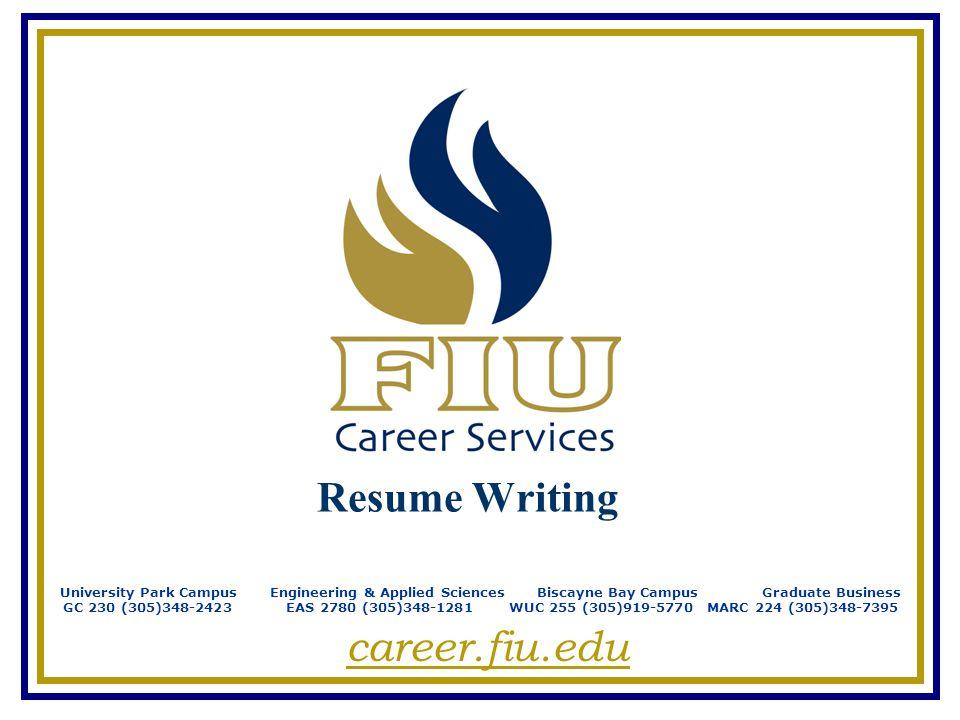 Resume Writing University Park Campus Engineering Applied Sciences