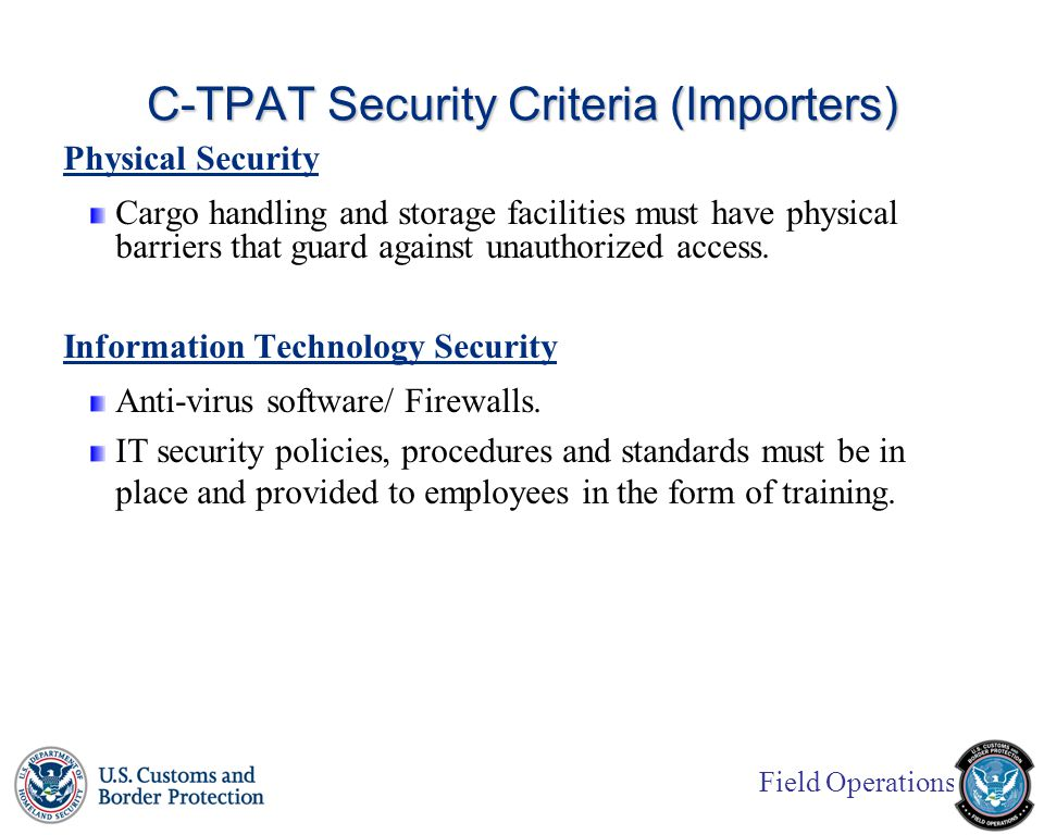 field operations u.s. customs and border protection customs-trade ...