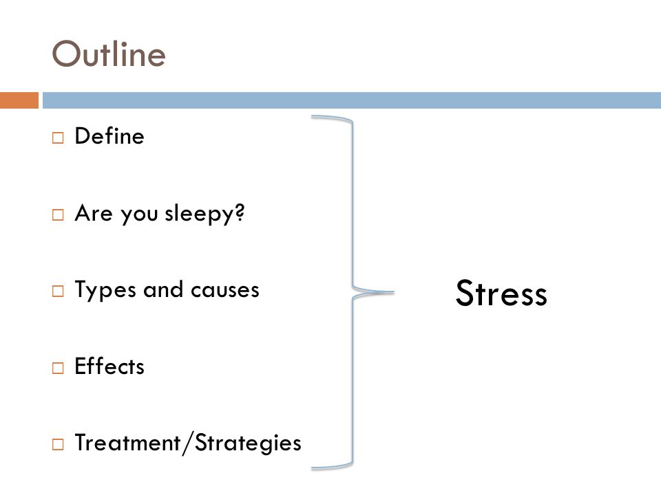 insomnia causes and effects