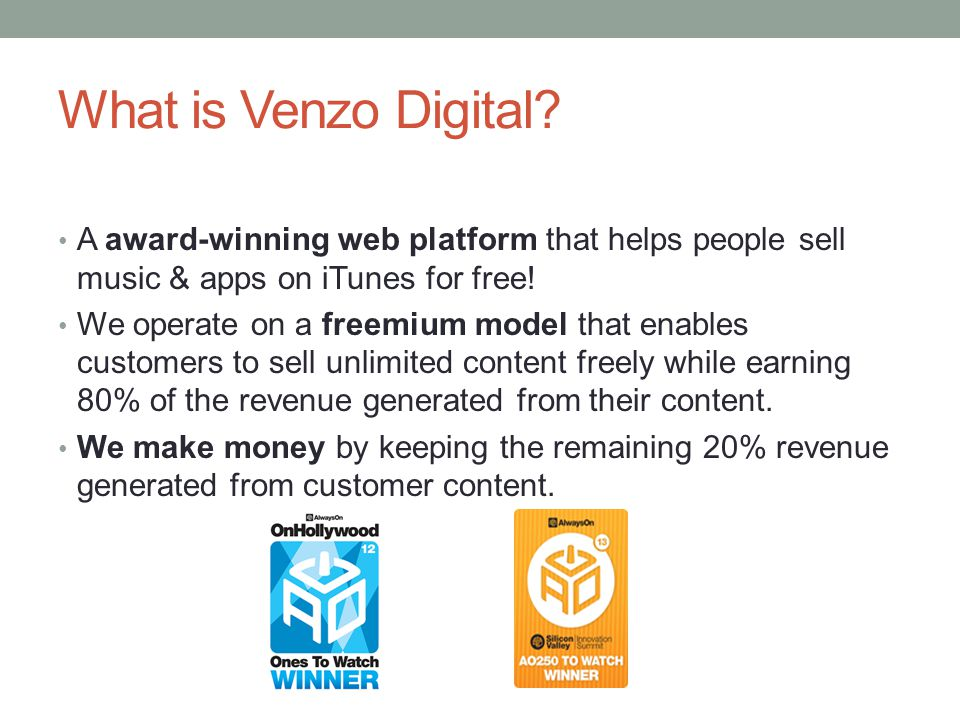 What is Venzo Digital.