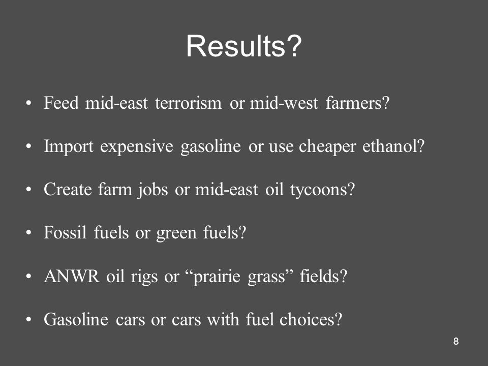 8 Results. Feed mid-east terrorism or mid-west farmers.