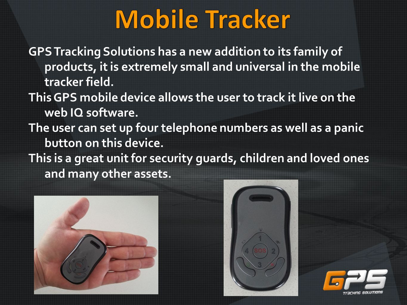GPS Tracking Solutions is a fleet solution  The biggest