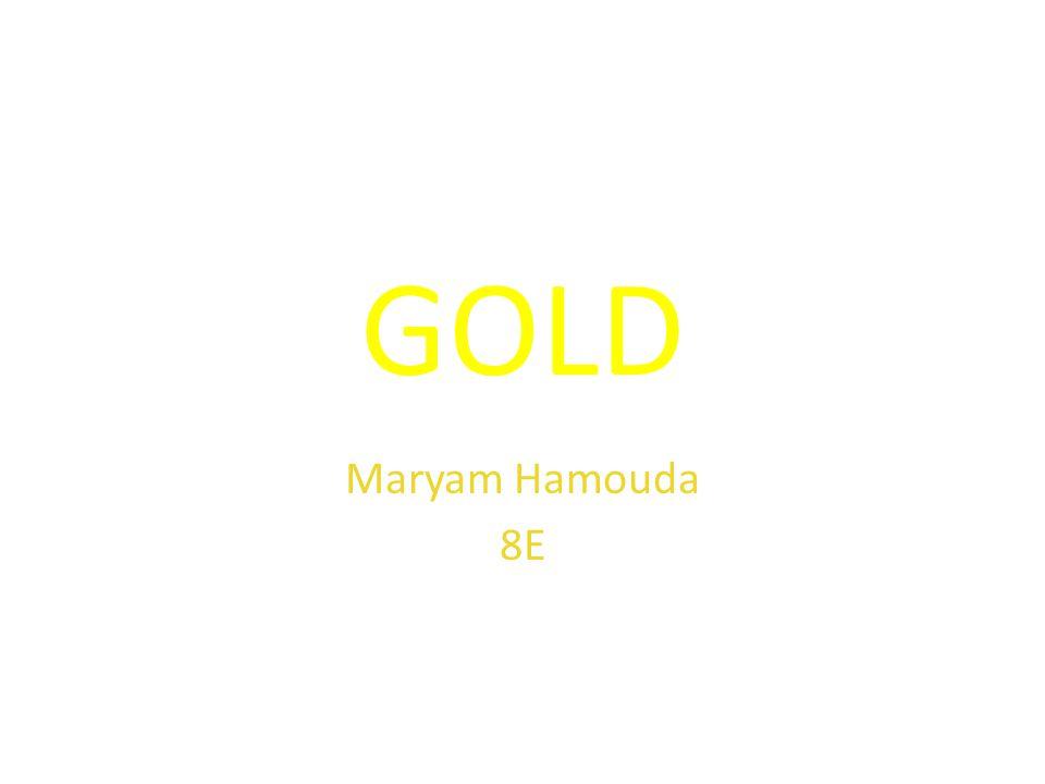 Gold Maryam Hamouda 8e About Gold Symbol Au Atomic Number 79 Gold