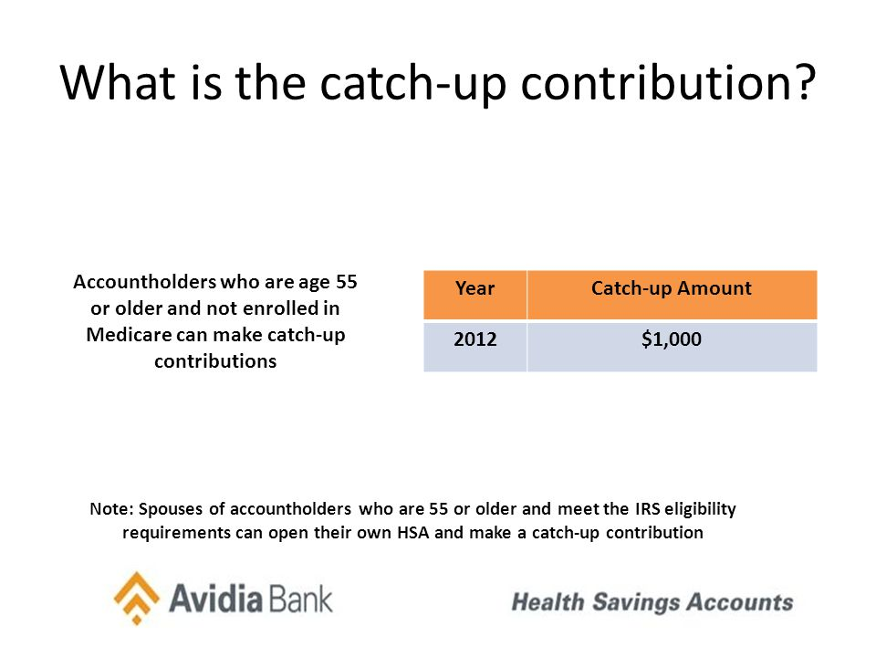 What is the catch-up contribution.