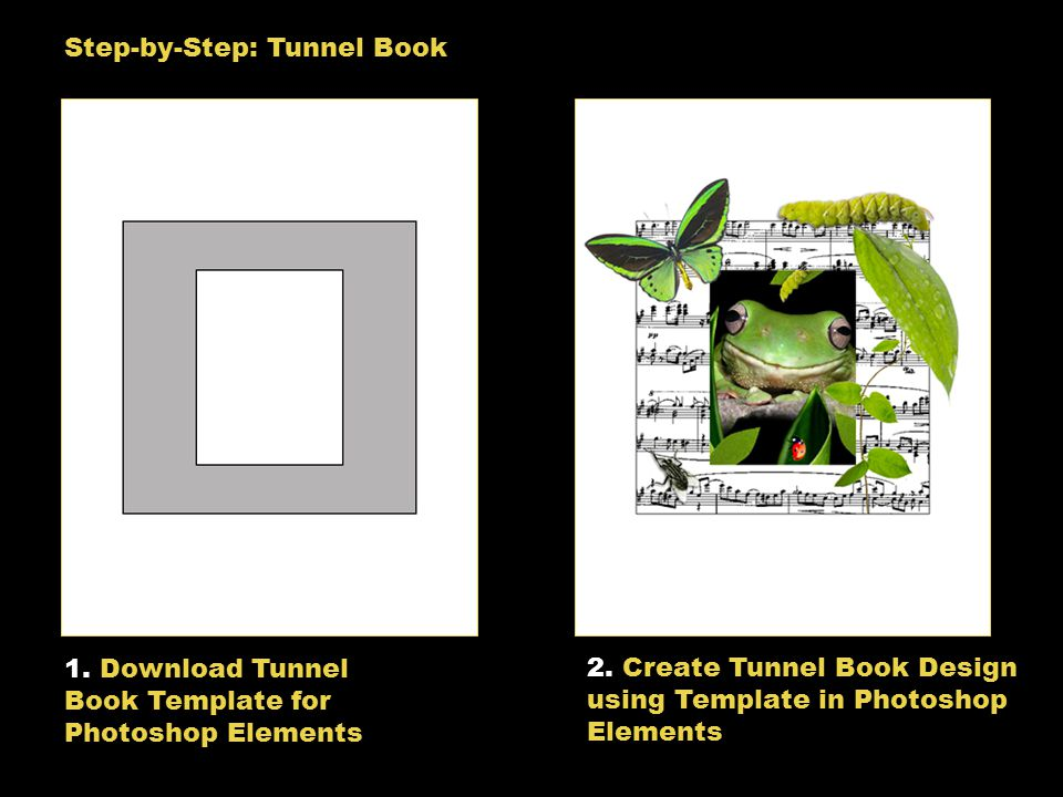 art computer tunnel book designs tunnel book design examples