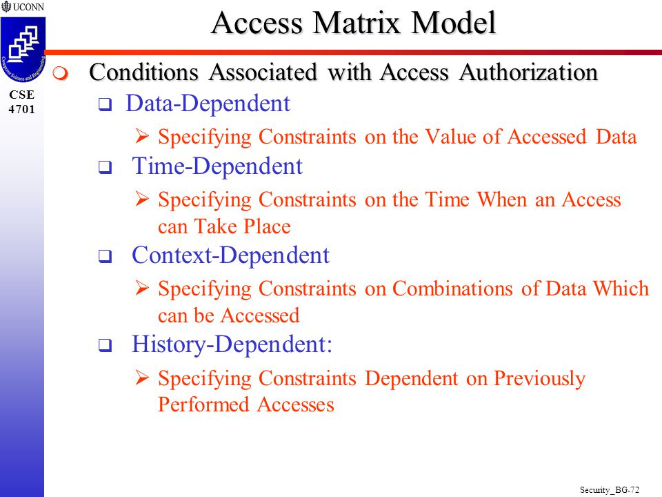 Security_BG-1 CSE 4701 Chapters 23 6e e: Security Prof