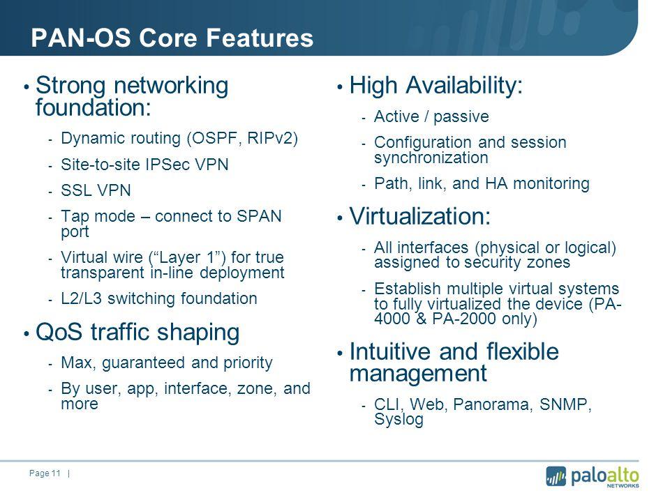 Next-Generation Firewall Palo Alto Networks  Page 2