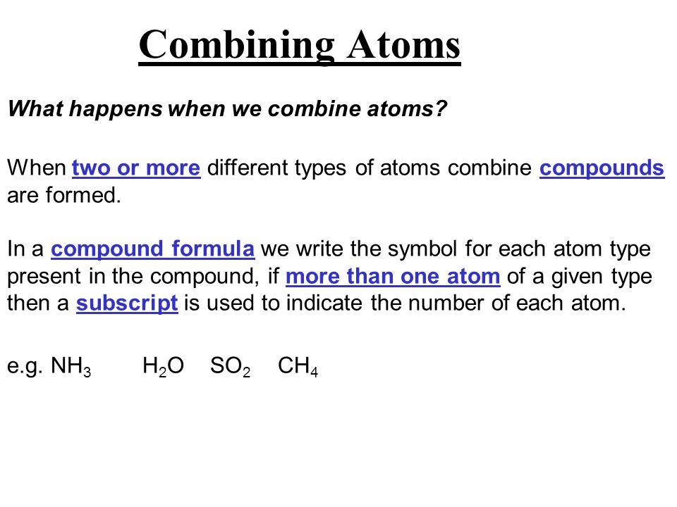 Chapter 2 Atoms And Molecules Chapter Overview Atoms And Molecules