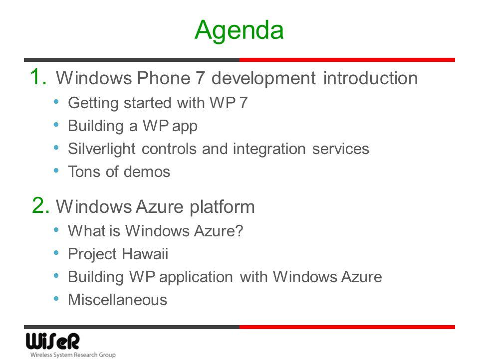 Windows phone 7 programming tutorials.