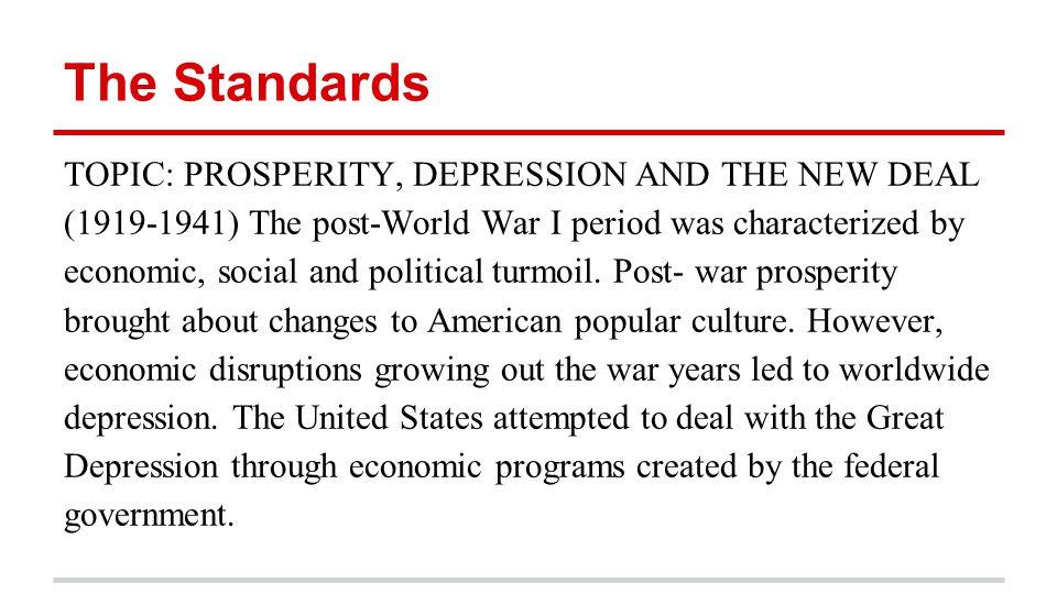 us economy after ww1