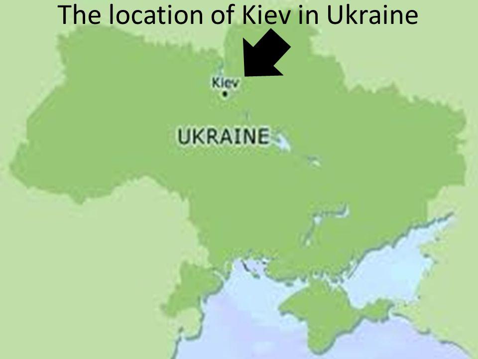 Kiev, Ukraine By Ryan Johansen. Kiev can also be spelled Kyiv. - ppt ...