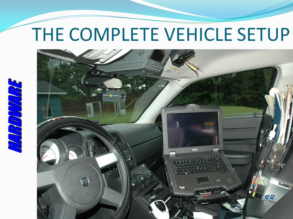 THE COMPLETE VEHICLE SETUP HARDWARE