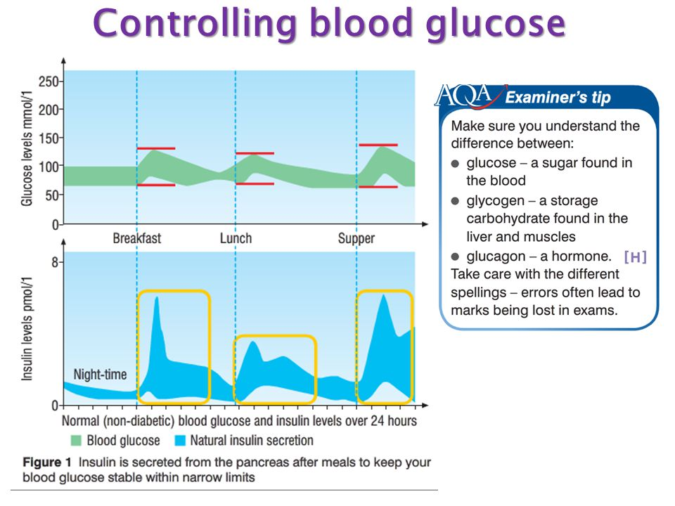 Controlling blood glucose