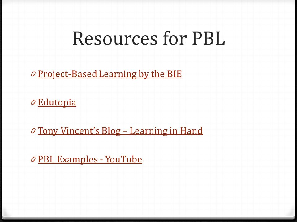 project based learning enhance learning with pbl ppt download