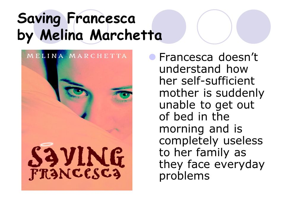 saving francesca summary