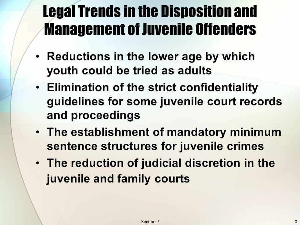 Sentencing for juvenile sex offenders
